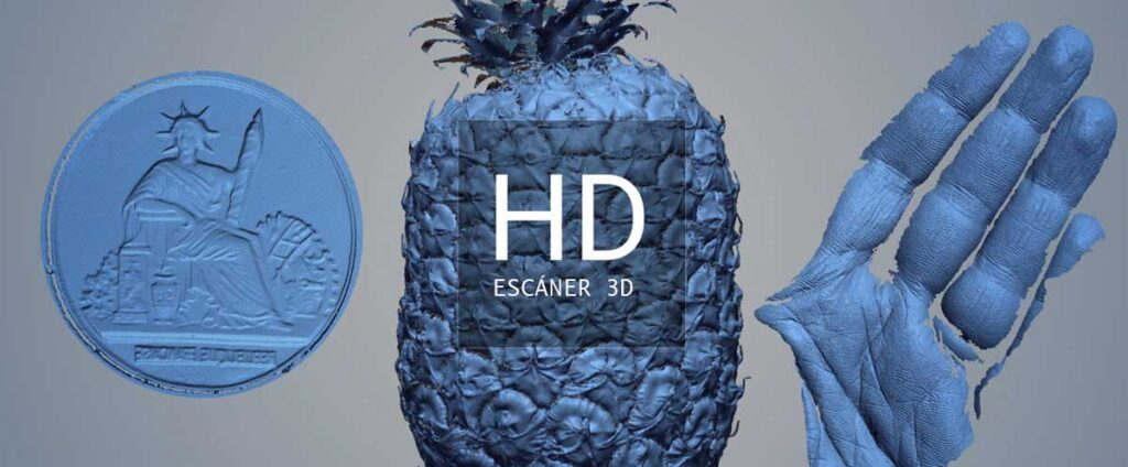 resolucion escaner 3d