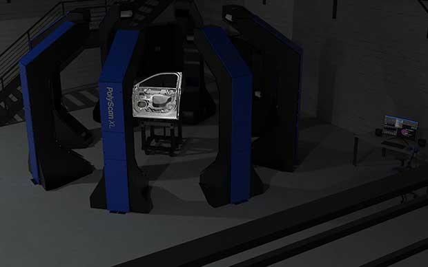 digitalizar-puerta-coche-escaner-luz-estructurada
