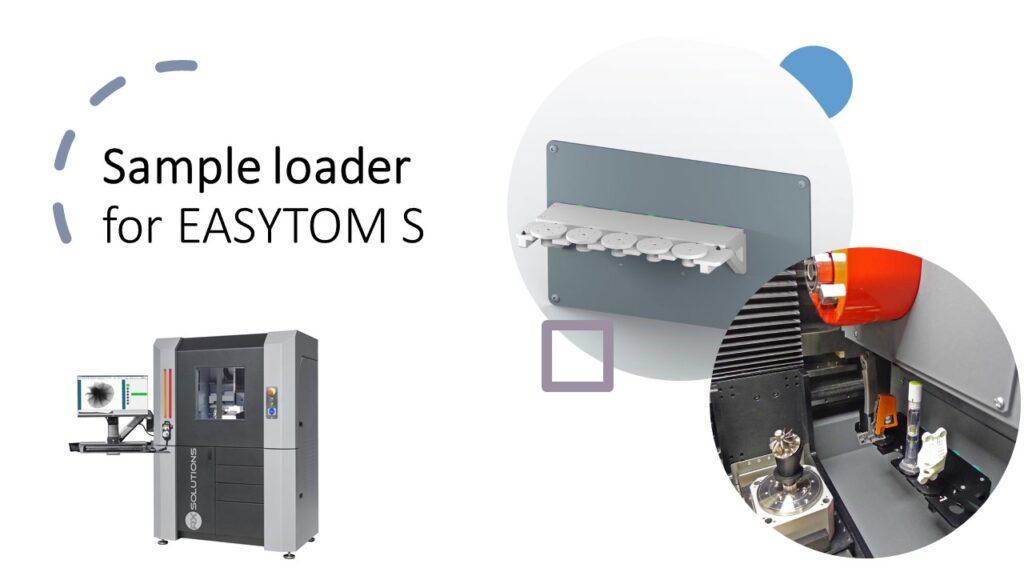 New sample loader for EASYTOM S