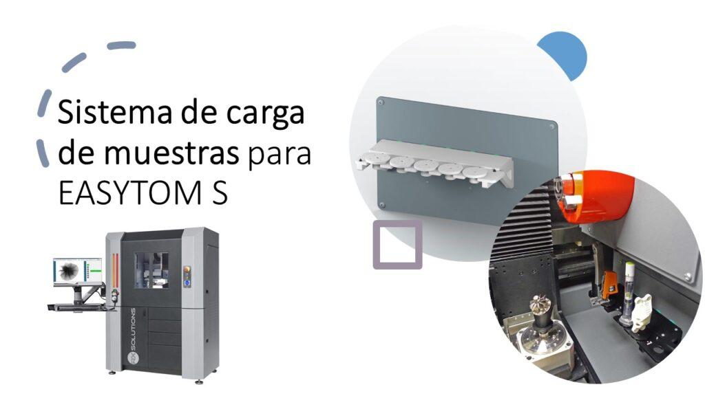 Sistema de carga de muestras para EASYTOM S